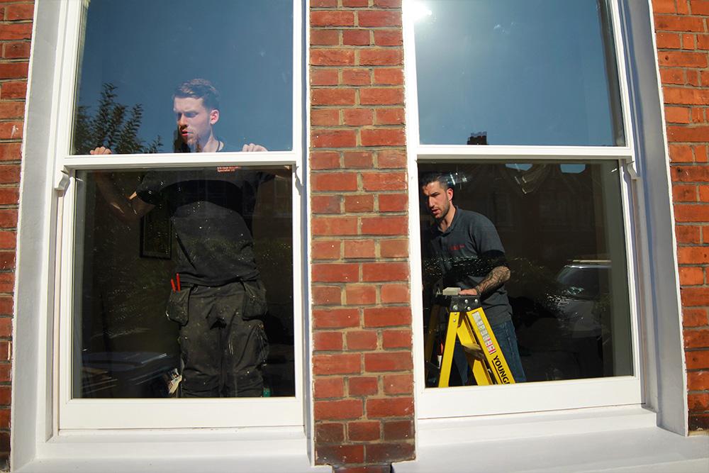 the sash window company in london
